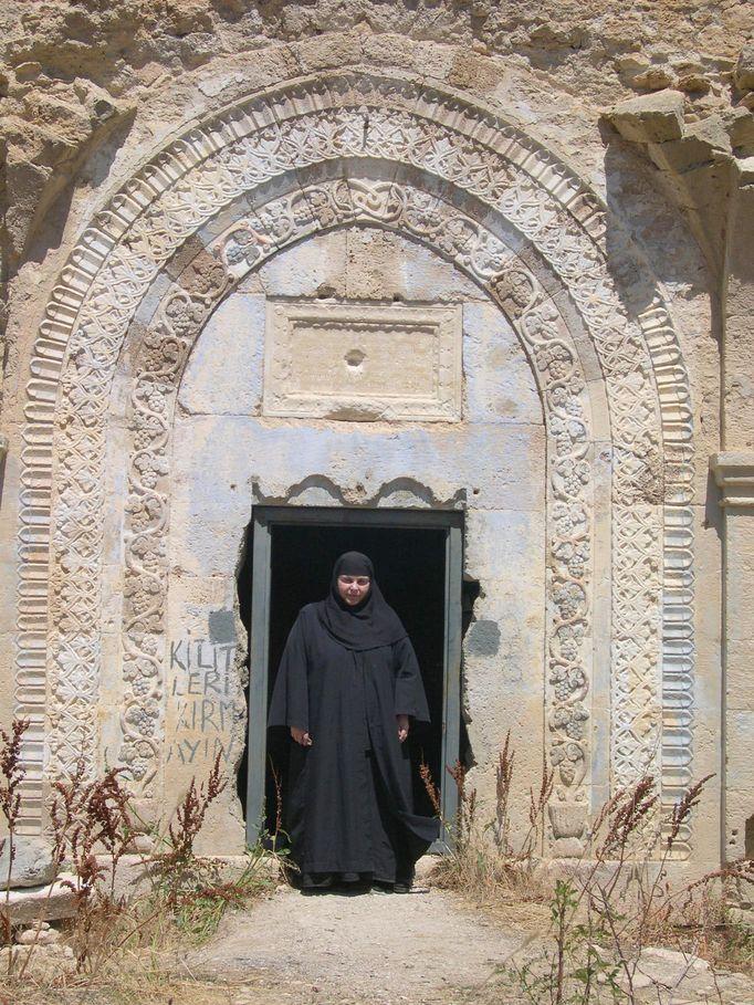 Κύρια Είσοδος Του Ιερού Ναού Του Τιμίου Προδρόμου Ιμέρων Πόντου