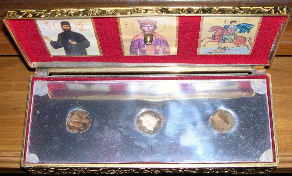 Αγίου Εφραίμ Νέας Μάκρης, Αγίας Βαρβάρας, Αγίου Δημητρίου